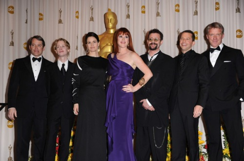 Brat Pack reunites at Oscars 2010
